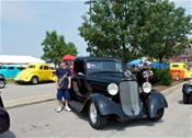 It's not the NSRA Street Rod Nationals without the cars.